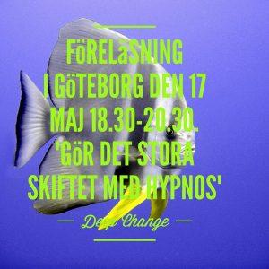Föreläsning med Elisabeth hypnotisör och medium den 17 maj, kl 18.30-20.30